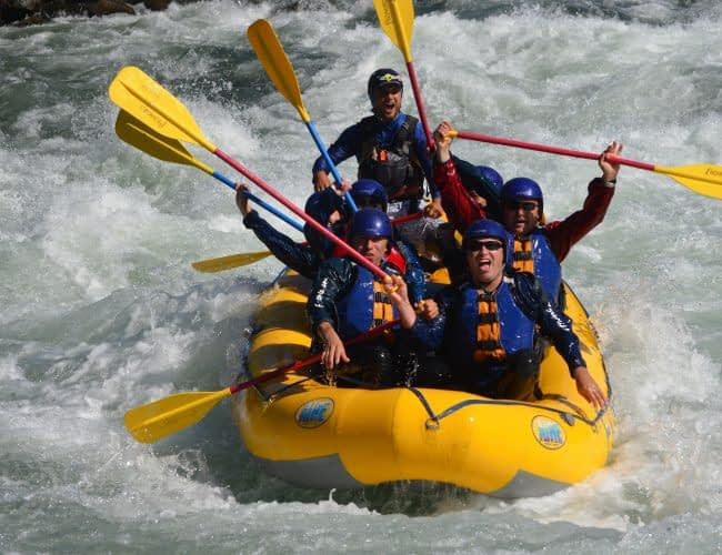 10. Deportes de aventura